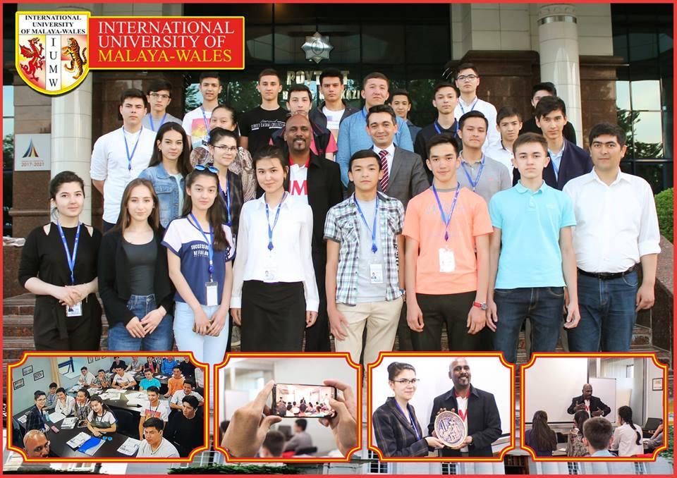 REAL SCIENCE пригласил представителя Malaya Wales International University
