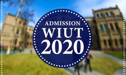 Поступление в WIUT: Registration, Dates, Admission, Scholarship